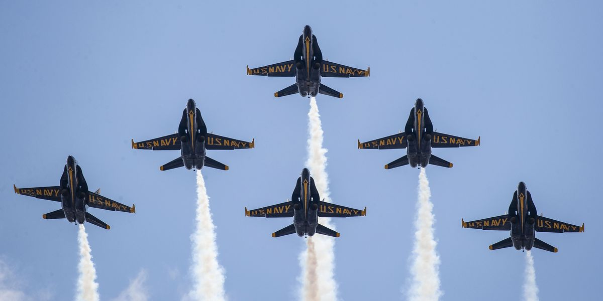 The Blue Angels Are Taking Their Hornet Out for One Last Flight