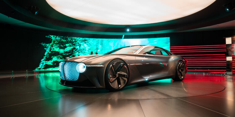 Bentley will ditch internal combustion engines by 2030
