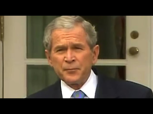 George W. Bush Shows Us Why the Right Lost Faith in Trump
