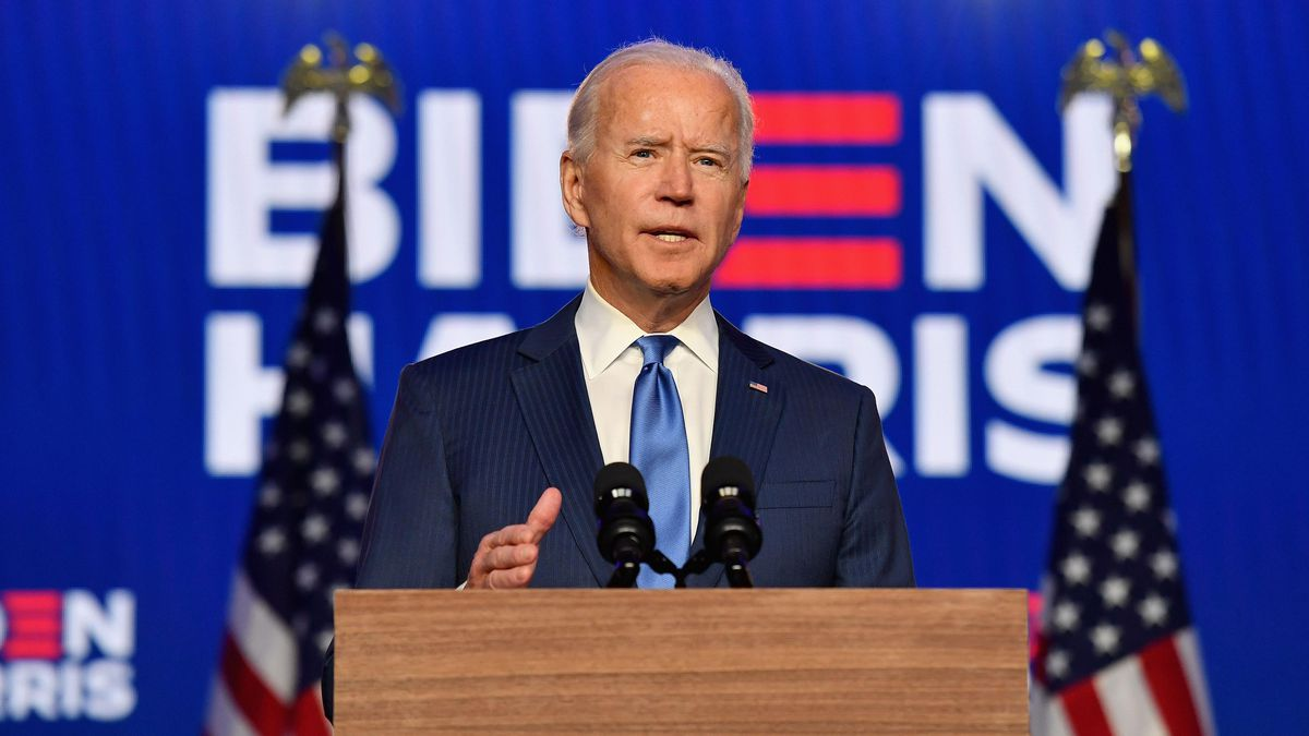 President-Elect Biden: 'It's Time To Put The Anger Harsh Rhetoric Behind Us'