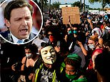Florida Governor Ron DeSantis 'to allow armed citizens to shoot suspected looters and rioters'