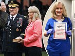 Nurse wife of the nation's top military officer saved veteran who fainted at Veterans' Day ceremony