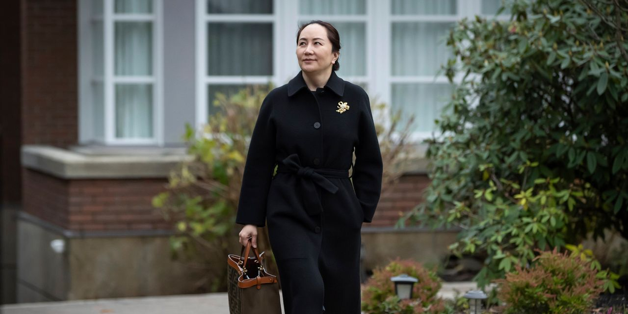 Huawei CFO in Talks With U.S. to Resolve Criminal Charges