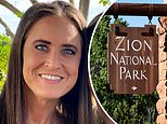 Missing California mother, 38, is found alive 12 days after she went missing in Zion National Park