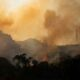 Firefighters move in on Southern California canyon blaze, aided by easing winds