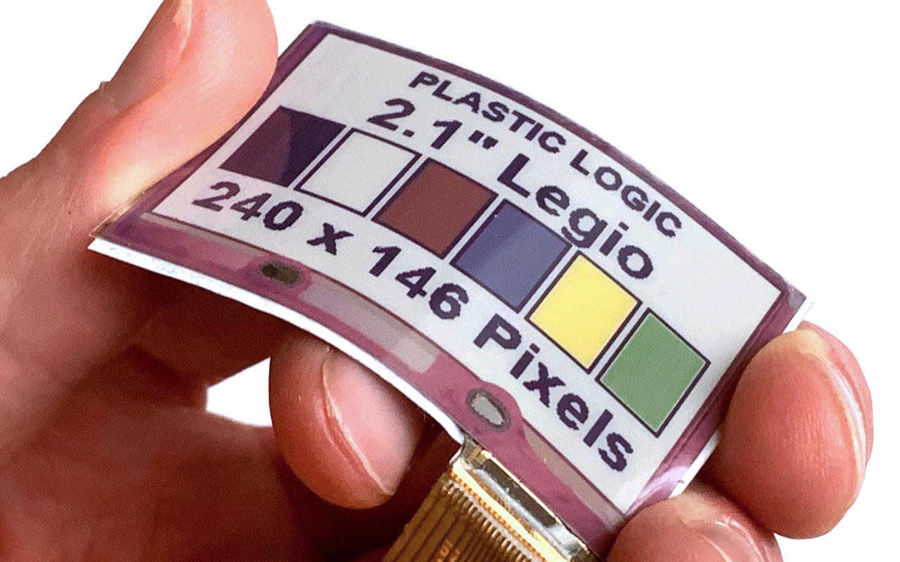 Flexible Color E Ink displays could soon come to wearables