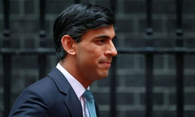 UK must cut borrowing to avoid risks from new shock, higher rates-Sunak