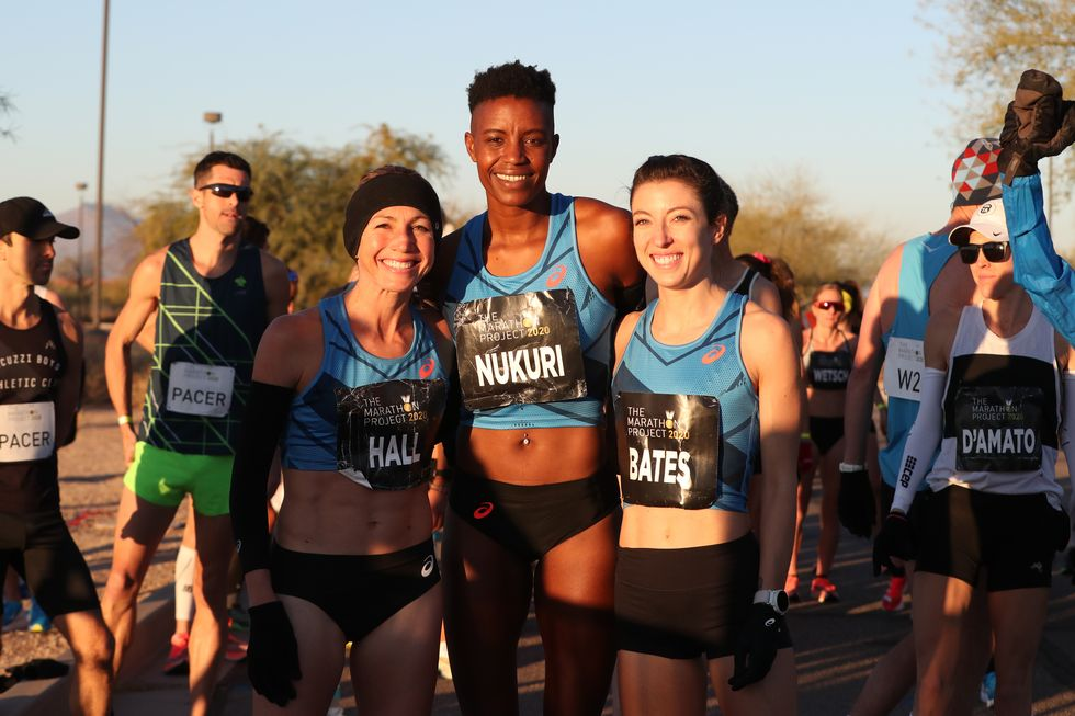 Sara Hall Becomes Second-Fastest Marathoner in American History at The Marathon Project