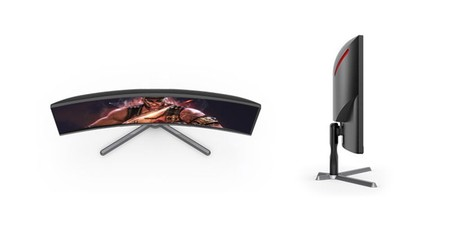 AOC CQ30G3E curved gaming monitor launched