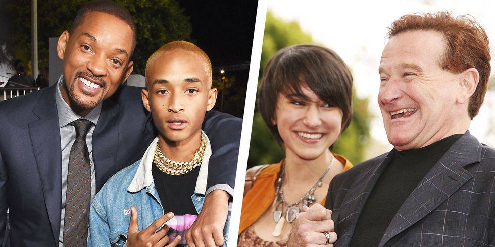 31 Celebrities Who Have Acted Alongside Their Kids