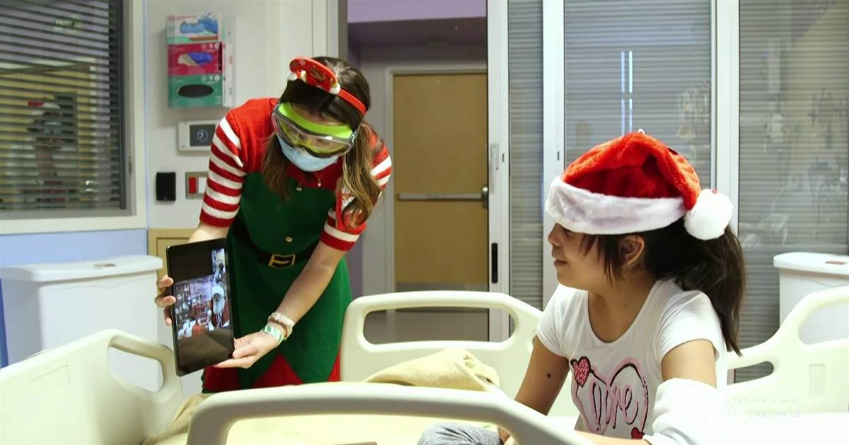 Children's hospitals go above and beyond to spread holiday cheer