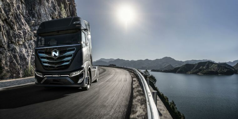 Nikola stock craters after cancellation of major garbage truck order