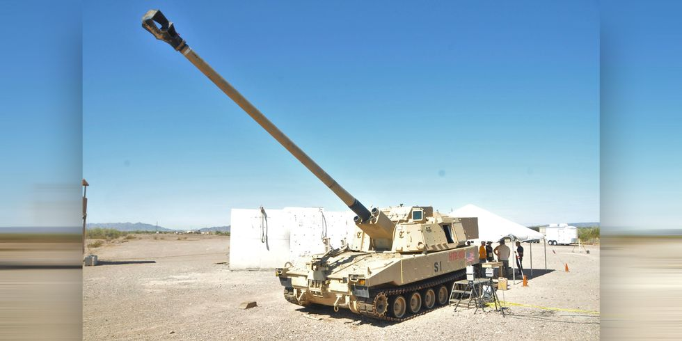The Army's New Howitzer Just Hit a Target 43 Miles Away. On the Nose.
