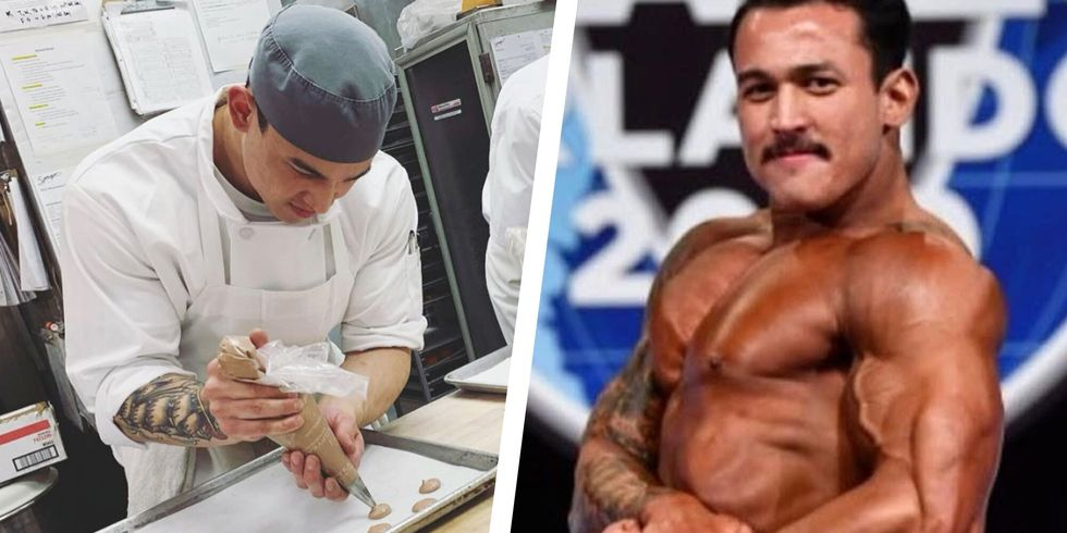 Here's How Pastry Chef Andre Drapiza Stays Shredded While Surrounded by Treats