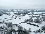 Britain will be buried in up to SIX INCHES of snow before New Year's Day
