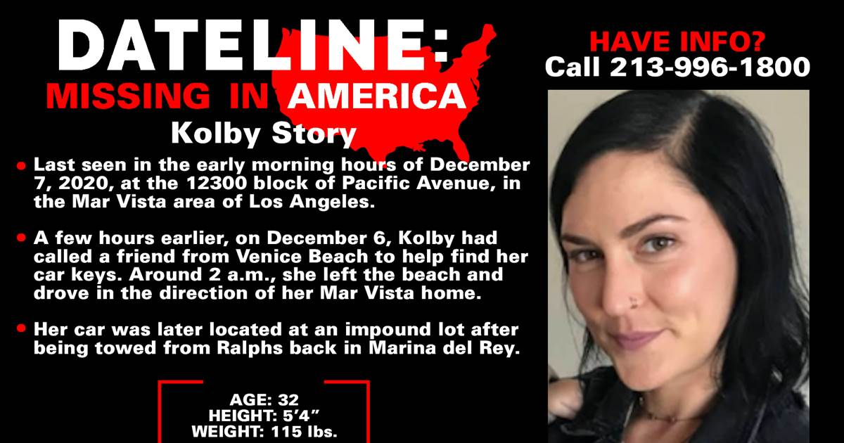 LAPD seeking public's help to find woman who went missing in early December after leaving Venice Beach