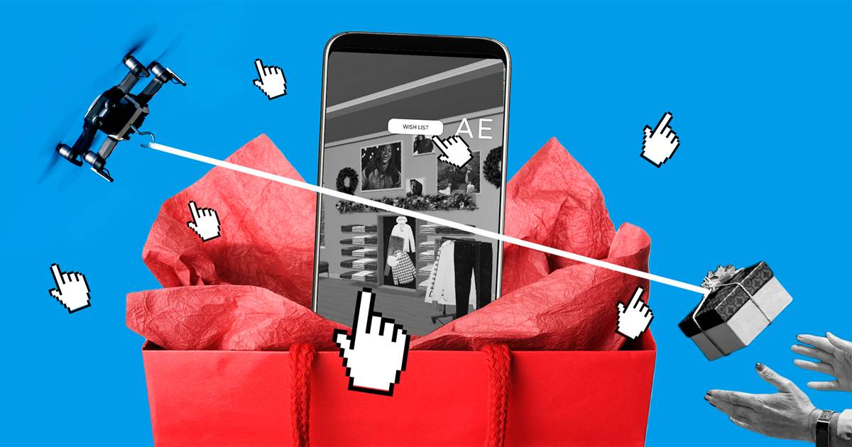 Drones, bots and virtual stores: How your pandemic shopping boosted new trends in retail