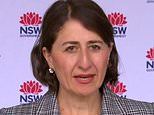 NSW Premier Gladys Berejiklian takes a week of leave as state records seven Covid cases
