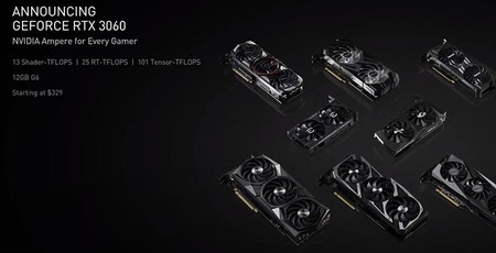 Nvidia unveils the GeForce RTX 3060 12GB graphics card