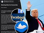 Idaho internet provider BLOCKS Twitter and Facebook over censorship after both banned Trump