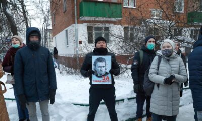 Navalny Urges Protests Against His Detention in Russia