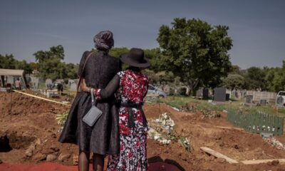 Undertakers Take Front Lines in South Africa's Virus Fight
