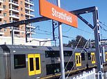 Horror at Strathfield train station, Sydney as a man is furiously stabbed during a wild brawl