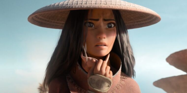 Warrior princess fights to save humanity in Raya and the Last Dragon trailer