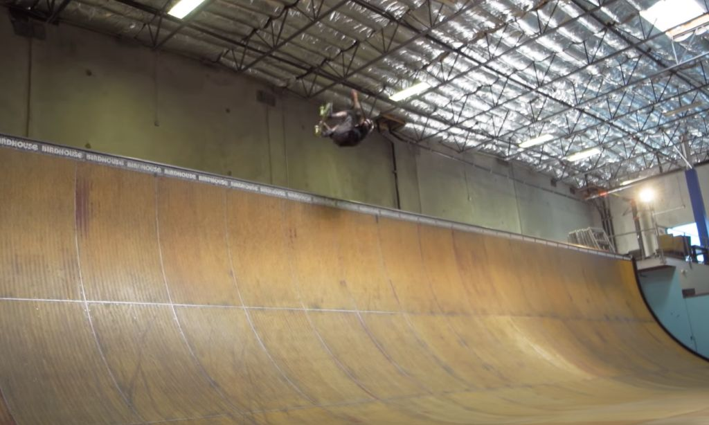 Tony Hawk completes probably final 720 at the age of 52