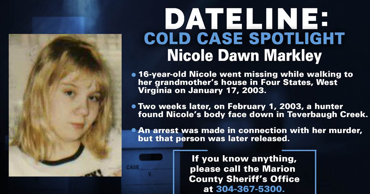 Murder of West Virginia teen still unsolved nearly two decades later