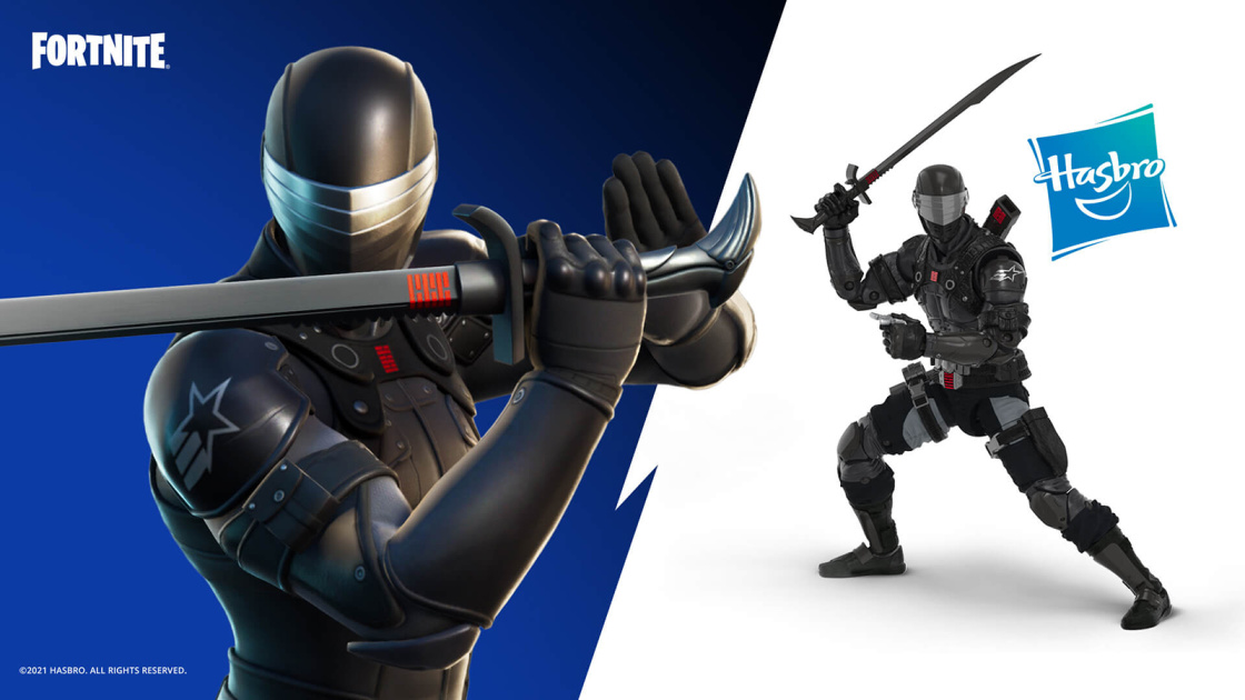 'Fortnite' gets a 'GI Joe' character with a matching action figure