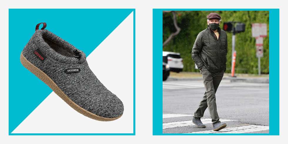 Harrison Ford's Giesswein Slippers Should Be Your Next Pandemic Purchase