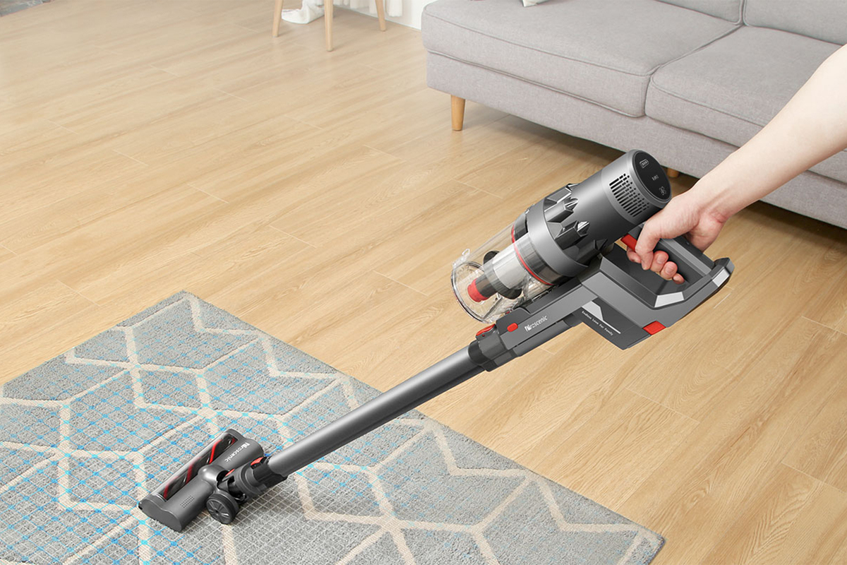 Proscenic P11 cordless vacuum review: Super suction specs don't result in cleaner floors