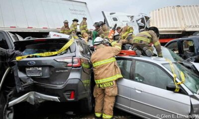 Nurse Pinned in Fatal Texas Pileup Climbs Out, Goes to Work