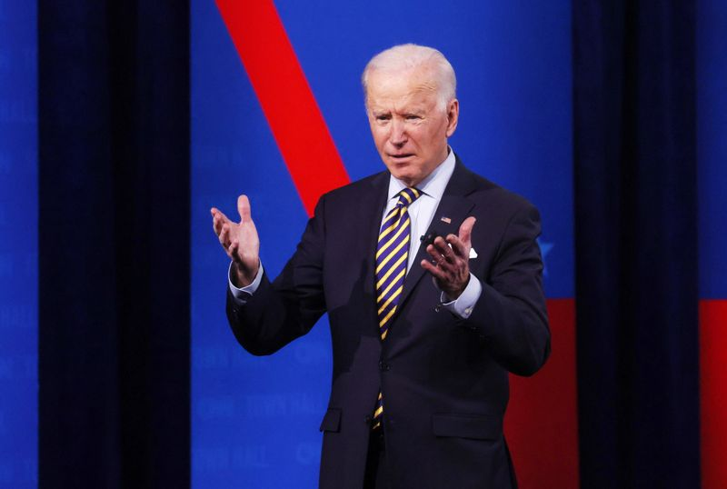 Biden discusses COVID relief and infrastructure with top labor leaders
