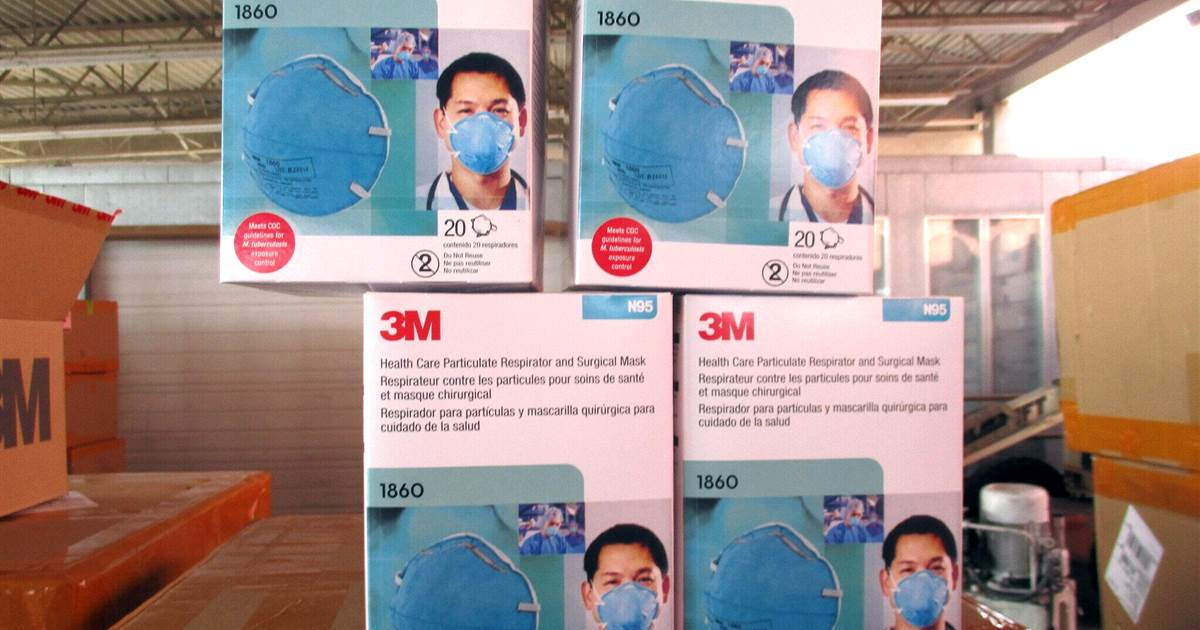 Federal agents seize roughly 10 million phony N95 masks in Covid-19 probe