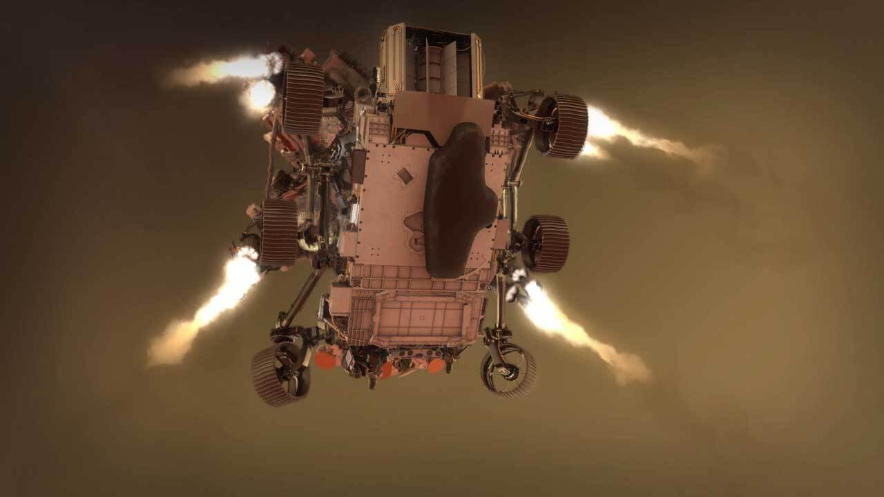 NASA's Perseverance Rover will attempt a complicated Mars landing tomorrow