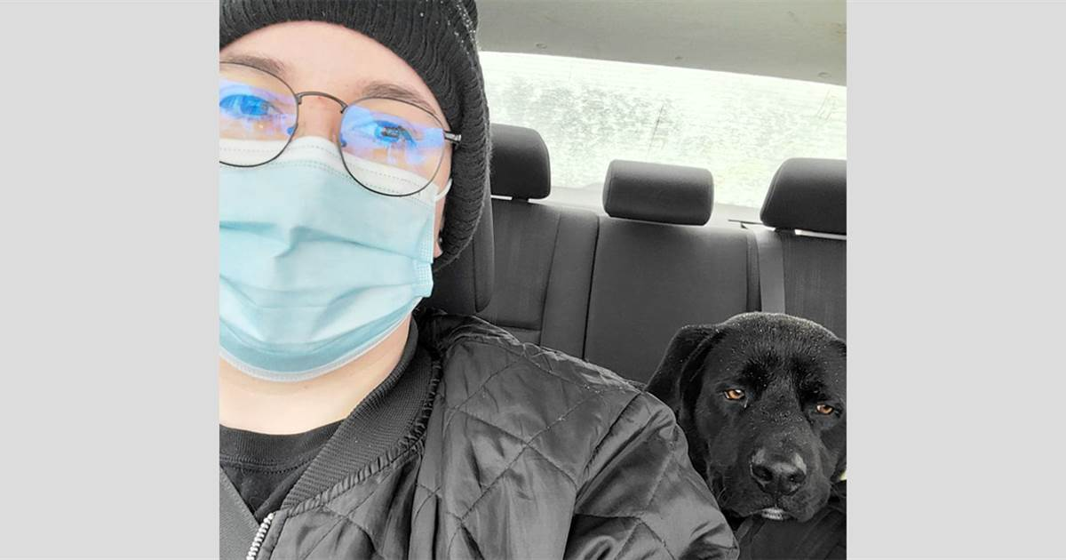 Tortillas lured a freezing Texas dog to safety. Guess his new nickname?