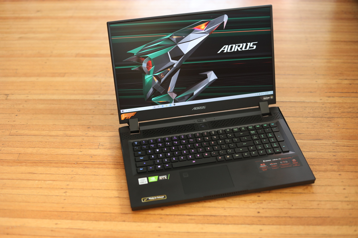 Gigabyte Aorus 17G Review: A real gaming laptop that's amazingly quiet