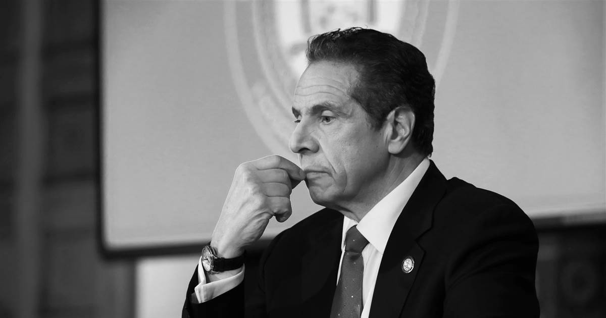 The swift rise and disastrous fall of Andrew Cuomo, America's wannabe Covid hero