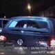 Car thief rolls VW Golf during police chase