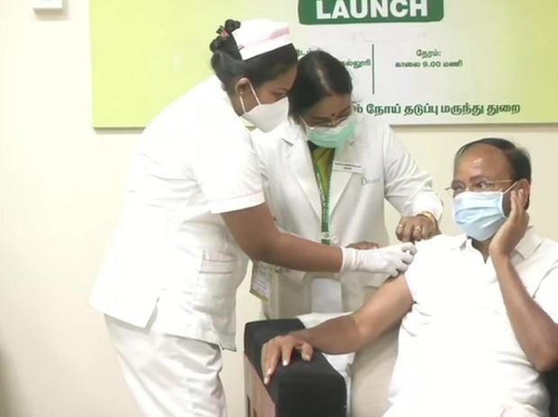 Venkaiah Naidu takes Covid jab, urges all eligible people to get vaccinated