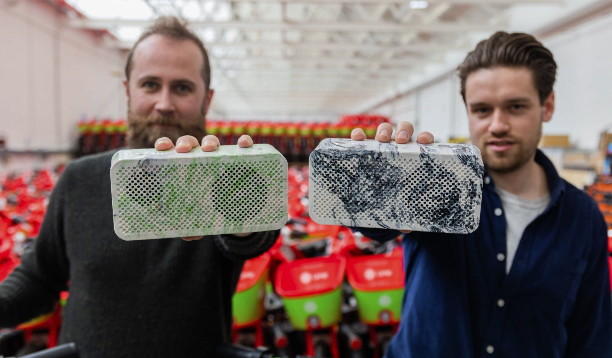 Lime's old e-bike batteries are being upcycled into portable speakers