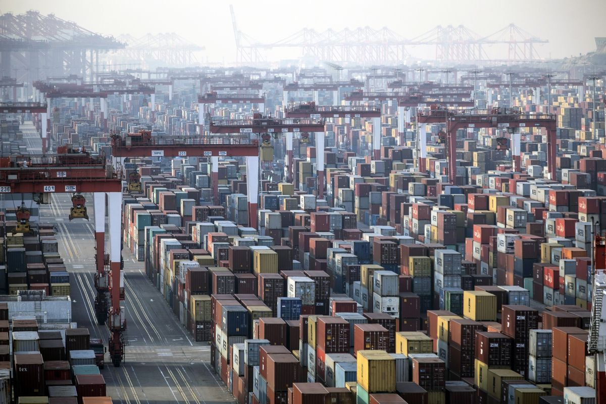 China Exports Surge From Year Ago When Lockdown Shut Factories