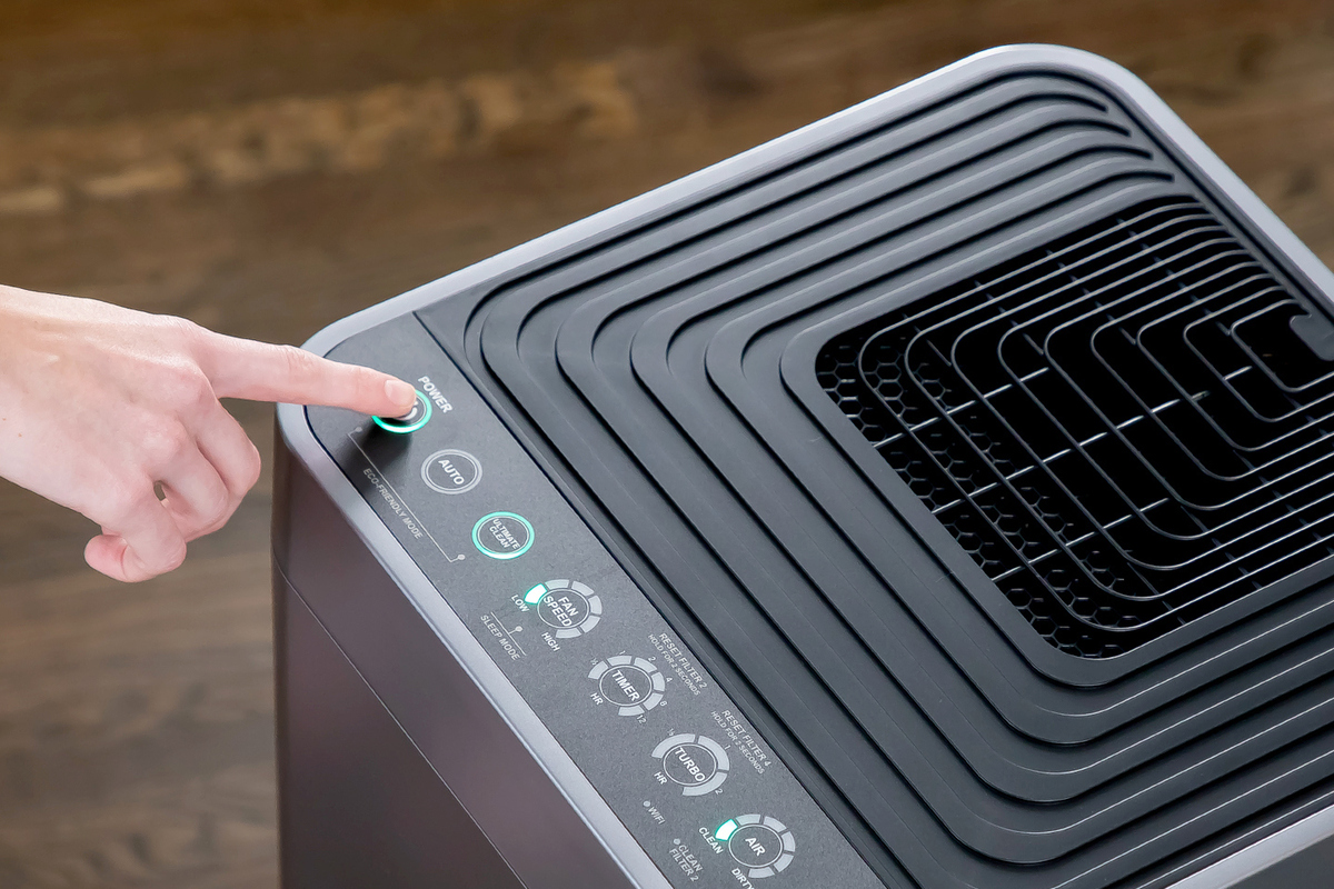NuWave OxyPure Smart Air Purifier review: This monstrous purifier scrubs the air in large rooms