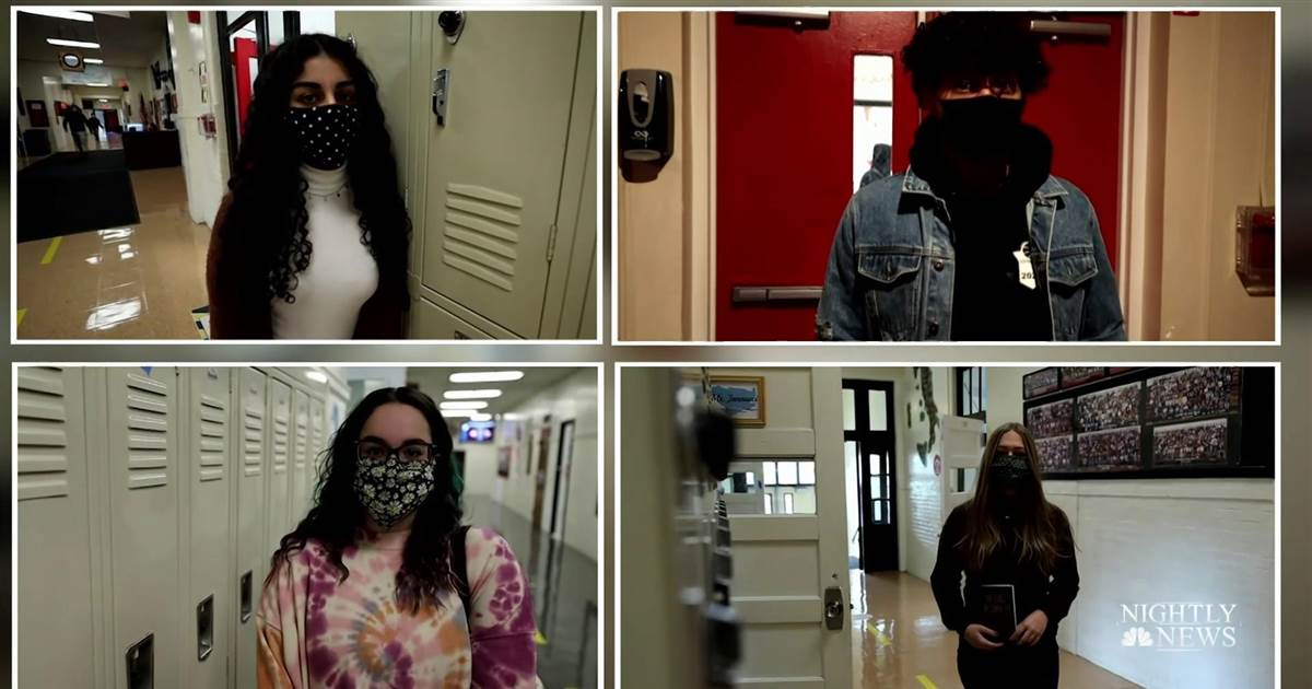 High school students write memoir about life during pandemic