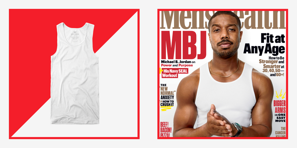 Here's Where You Can Buy the Flattering Tank Top Michael B. Jordan Wears on Our Cover