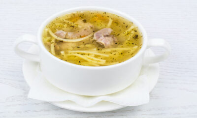 USDA public health warning over chicken soup