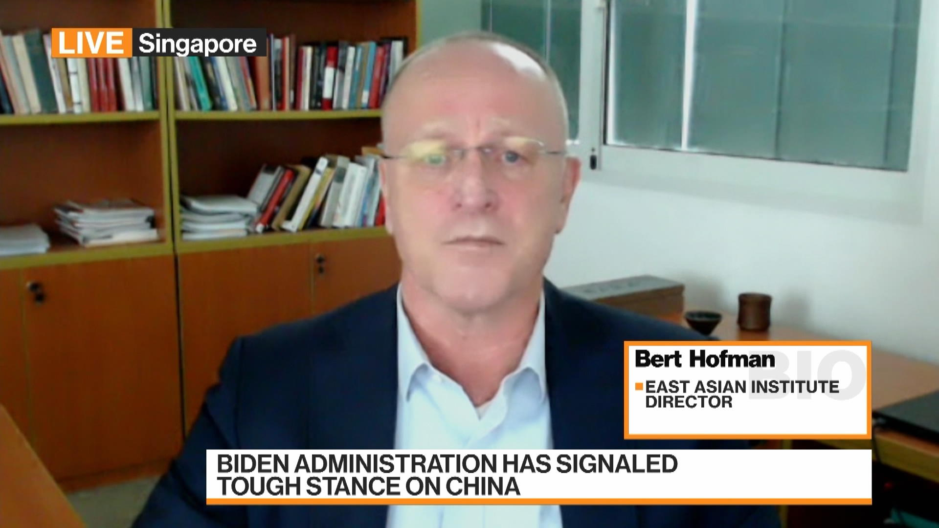 Technology Continues to be Sensitive Areas in U.S.-China Ties, E.A.I's Hofman Says
