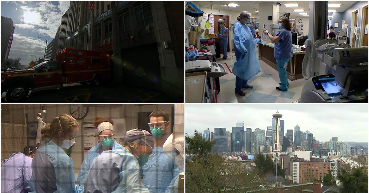 Seattle staff at one of the first U.S. hospitals to combat Covid reflects on the past year
